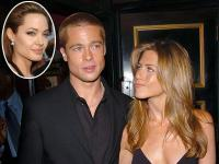 Brad Pitt se intalneste in taina cu Jennifer Ariston
